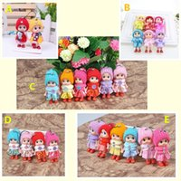 Kids Toys Dolls Soft Interactive Baby Doll Toy Mini For Girls Gift Hat beauty Pendant Backpack Mobile Phone Pendants Make Kid More Fashionable