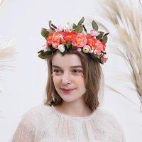Decorative Flowers & Wreaths Wedding Tiara For Bride - Princess Headband Pageant Crown, Bridal Hair Jewelry Women And Girls