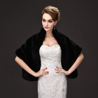 Wraps & Jackets Elegant Bridal Capes Faux Fur Winter Coat Gelinlik Accessories EE7704