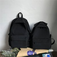 Backpack Style Women Cute Casual School Trend Nylon Bags Fashion Teenager Girl Solid Color Mochilas Rucksacks