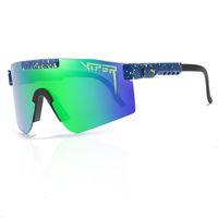 01 o 1993 polarizado duplo largo pit víbora óculos de sol esportes esportes ao ar livre óculos de esqui no sal 0R8K