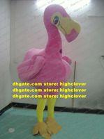 Sevimli Pembe Kuş Kırmızı-taçlı Vinç Ostrich Maskot Kostüm Flamingo Türkiye TallStrider Büyük Pembeler Vücut Yetişkin No.626 Ücretsiz Gemi