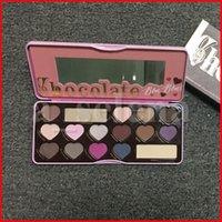 Maquillage des yeux Chocolate Fauts d'ombre 16 Color Coeur Share Shadow Palesettes Étanche Palette Shasime Matère longue durable