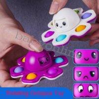 Favor Favor Fidget Brinquedos Octopus Fingers Spinner Push Push Push Dice Anti-Irritibilidade Artefato Fingertip Novidade Autismo Sensorial Precisa de Ansiedade Reliever Brinquedo