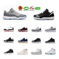 Chaussures de basketball Breed High Jumpman 11 Hommes Femmes Fermeture Cérémonie Hight Velvet Heiress Heirress Infrarouge Baskets Platinum Tint Formateurs Taille US 5.5-13