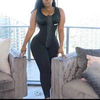 Women's Shapers Women High Compression Fajas Colombianas Shapewear Tummy Control Postpartum Skims Siamese Leggings Fitness Body Shaper