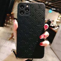 Top designer lederen telefoon gevallen voor iphone 13 pro max 12 mini 11 xs xr x 8 7 plus modeontwerpers print achterkant Luxe mobiele shell volledige dekking beschermhoes