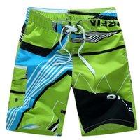 Men Beach Shorts Summer Swimming Trunks Male Swimwear Dry Breathable Loose Print Elastic Casual Short Plus Size M-6xl