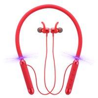 الأصلي 100٪ bluedio kn سماعات الرأس النشط للحد من الرقبة مثبتة الرقبة 4.2 سماعة بلوتوث مصغرة سماعات بلوتوث لاسلكية سماعات الأذن