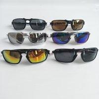Hommes Mode Sunglasses Sports Moto Spectacles UV400 Protection Femmes Éclairage Couleur Vélo Sport Extérieur Sun Lunettes