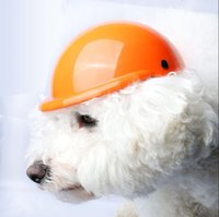 Dog Apparel Helmets Motorcycle DIY Pet Hats ABS Accessories Safety Protect Head Outdoor Sports For Chihuahua Teddy