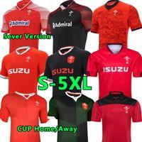 S-5xl 2021 Gales Rugby Jerseys Equipo Nacional Copa Mundial Cymru Hogar Red Away Men Polo Camiseta E Hombre Entrenamiento Jesería Uniformes