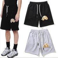Fashion Mens Designer Shorts High Street Rilassato Pantaloni corti per uomo Lettera stampata Casual Hip Hop Streetwear Style Pantaloni ST2109