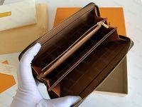 Высочайшее качество Натуральная кожаный кошелек Держатель люкс дизайнеры сумочки мужчины бесплатные женские держатели карт для монет Уолтовые держатели черные аэйнцкинские кошельки ключевой карманный слот