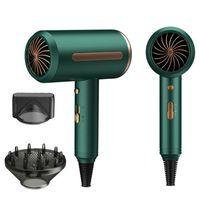 Sèche-cheveux professionnels, machine à séchage puissant et rapide, air froid, outil de styliste d'ions négatifs pinceaux électriques