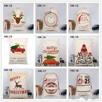 크리 에이 티브 성격 크리스마스 트리 엘크 간단한 만화 디자인 캔버스 캔디 선물 가방 크리스마스 가방 장식 홈 포장 가방 실용