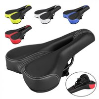 Bike Saddles Bicycle Saddle Soft Comfort Mountain Road Breathable Hollow Seat Parts Cycling Accessories