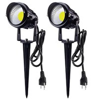 AC85-265V LED-Rasenlampen 18W IP65 wasserdichte Außenbeleuchtungspunkt Flutlichter Dekoratives Gartenlicht mit Spike
