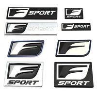 3d المعادن f الرياضة شارة شعار الشارات ملصقات السيارات لكزس IS200T IS250 IS300 RX300 CT NX RX GS RX330 RX350 CT200 GX470 IX350