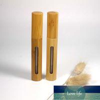 5ml Natural Bambu Embalagem Lip Gloss Recipiente Cosmético Lipgloss Tube