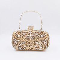 Gift Wrap 2021 Dinner Bag European And American Ladies Handbag Diamond Set Evening Lace Trim