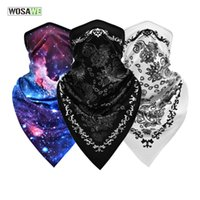 Cycling Caps & Masks WOSAWE Breathable Sport Hiking Balaclava Full Face Scarf Mask Hunting Bike Military Tactical Neck Gaiter Cover