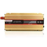 車の太陽電池インバータ修正正弦波インバーターDC 12V 110V / 220V 2000W電圧トランス電源電力変換器LED車