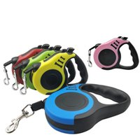 5M Retractable Dog Leashes lead Pets Cats Puppy Leash Automatic DogS Collars Walking LeadS for Small and Medium Pet WLL889