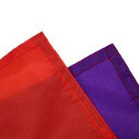 Оптовая продажа 90 * 150см треугольник радуги флаги баннер из полиэстера металлические втулки ЛГБТ гей радуги прогресс гордость флага украшения CCF5319