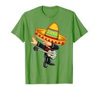 Dabbing Mexican Mariachi with Guitar Cinco De Mayo Shirt