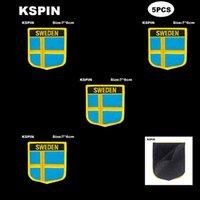 National Flag Patch Crochet Boucle Suède Badges Badges Basculer 3D Stick sur Veste Sac à dos Stickers