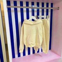 Clothing Sets Designer Boys Winter 2021 Kids Tracksuit Cotton Hoodies Coat+Pants 2pcs Autumn Children Sportswear Girls Suit