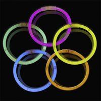 Multi Color Hot Glow Stick Bractele Ожерелья Неоновая вечеринка Светодиодные Мигающие Света Палка Палочка Новинка Новинка Игрушка Светодиодный Вокальный Концерт Светодиодные Флэш-палочки 349 y2