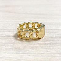 New Twisted Rame Rame Anello in oro per le donne Simple Fashion Love Bohemian Jewelry per le donne con scatola