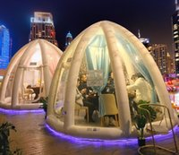 Beach proposal party decorated tents B& B. camping wild luxury hotel inflatable tent bubble house custom products