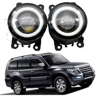 2X Car Accessories LED Bulb Front Fog Light Angel Eye 12V H11For Mitsubishi Galant DJ_ ED_ EF_ Saloon 2003-2007