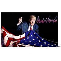 2024 Trump Tren Bayrağı 90 * 150 cm Trump Bayraklar ABD Başkanlık Seçimi Trump Afiş Bayrakları 2024 3 * 5ft FWA4386