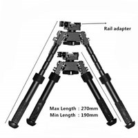 Go Pro Camera Tripod Rotation Tactical Metal Butterfly Bracket Retractable Bipod Sight Phone Pography Tripods