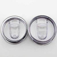 투명 플라스틱 컵 뚜껑 마시는 뚜껑 스플래시 유출 증거 20 30 oz 자동차 맥주 텀블러 머그잔 커버 DAM229