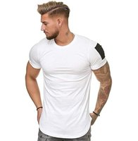 Mens Summer gyms Workout Fitness T-shirt High Quality Bodybuilding Tshirts O-neck Short sleeves Tee Tops clothing for men