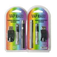 VAP Max W3 Kiti 350mAh Vertex Ön Icra Piller VV Değişken Gerilim 0.5 ML 1.0 ML için 510 İplik Buharlaştırıcı Vape Kalem E-Sigara Kiti