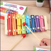 Favor Event Festive Party Supplies Home & Gardenmini Children Baby 8 Keys Wooden Musical Toy Percussion Instruments Toys For Kids Ewc6554 Dr