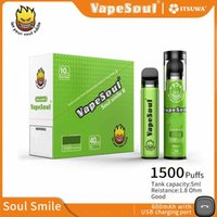 100% Original Vapesoul Smile II 1500puffs Disposable Pen E C...