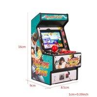 Mini Arcade Game Machine Handheld Retro16-bit 156 Console For Kids Portable Players
