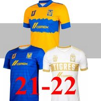 2021 2022 Tigres UANL 7 Stars third soccer jersey home away 20 21 22 Mexico club Tigers world cup GIGNAC Vargas H. Ayala SOSA jerseyshirts