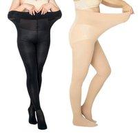 Çorap Hosiery Kadınlar Büyük Boy Bahar Yaz Sonbahar Rahat Elastik Tayt Lady Siyah Bej İpek Çorap Fitness Ince Naylon Kalem Pantho