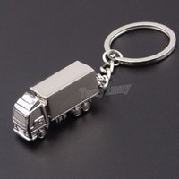 Truck camion alliage LicyRings Promotion Hommes Keychains 20pcs / Lot