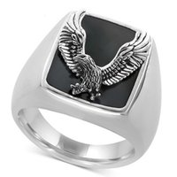 Love Ring Eagle Junyi men's jewelry style dominee and women's s