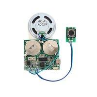 Conférenciers d'ordinateur Module de son enregistrable pour boîte-cadeau Bouton de voeux MP3 / capteur de lumière contrôlée et