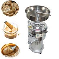 15Kg h Commercial Peanut Butter Grinder Mill Sesame Grinding Machine Peanut Butter Maker Pulverizer 1100W